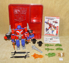 TRANSFORMERS CONSTRUCT BOTS ULTIMATE CLASS OPTIMUS PRIME HASBRO - COMPLETE 2013