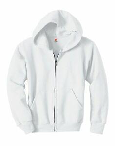 Hanes Hoodie Sweatshirt Comfortblend EcoSmart Full-Zip Kids Long Sleeve Hooded