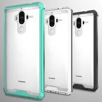 For Huawei Mate 9 Case Hard Back Soft Bumper Hybrid Slim Cover