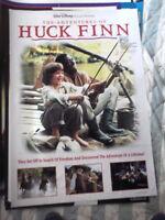 THE ADVENTURES OF HUCK FINN ELIJAH WOOD  1  SHEET MOVIE POSTER FOLDS