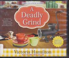 A DEADLY GRIND by VICTORIA HAMILTON~UNABRIDGED CD AUDIOBOOK?