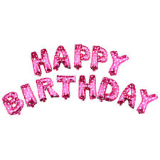 """13Pcs HAPPY BIRTHDAY Letters Shaped 16"""" Foil Balloons Shower Party Decoration"""