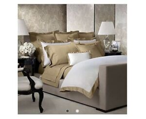Ralph Lauren 624 Solid Sateen Cal King  Extra Deep Fitted Sheet Polished Bronze