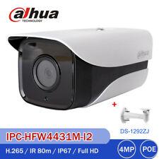 DAHUA 4MP IR 80 IPC-HFW4433M-I2 HD 1080P CCTV Security Camera DS-1292ZJ Bracket