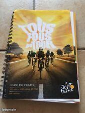 Livre de route Tour de France 2012 cyclisme