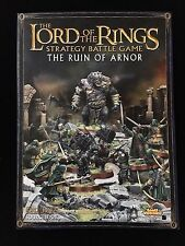 LOTR Games Workshop The Ruin of Arnor Sourcebook Rulebook