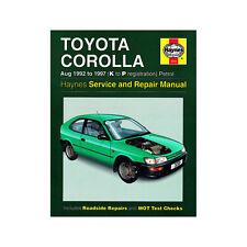 Toyota Corolla 1.3 1.6 1.8 Petrol 1992-97 (K to P Reg) Haynes Manual