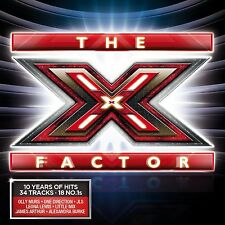 VARIOUS ARTISTS - THE X FACTOR: 34 GREATEST HITS 2CD SET (November 25th, 2013)