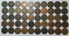 #1 Full Roll Mixed (50) Indian Head Cents
