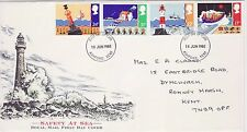 GB Stamps First Day Cover Safety at Sea, RNLI, Lighthouse etc CDS Ashford 1985