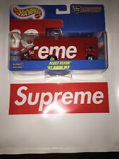 Supreme Hot Wheels Fleet Flyer 1992 Bmw M3 Red In Hand Ready To Ship