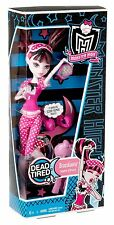 Monster High Doll Dead Tired Draculaura Wave 1 First Release Girl Mattel 3+ NIB