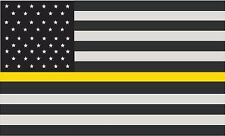 Security Guard Thin Yellow Line Spartan Helmet Vinyl Decal Sticker