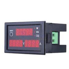 AC 80-300V LCD Digital Voltmeter Ammeter Power Panel Meter 100A DL69-2048