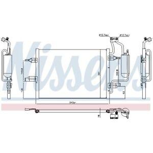 1 Kondensator, Klimaanlage NISSENS 94624 passend für OPEL VAUXHALL