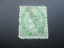Queensland Stamp: Specimen Overprint Mint  -  RARE  (k170)