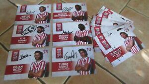 Kickers Offenbach 16 originalsignierte Autogrammkarten 2021/22 21/22