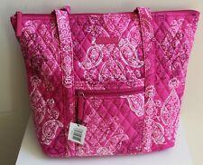 Vera Bradley Villager Stamped Paisley Shoulder Tote Bag Purse Handbag A5