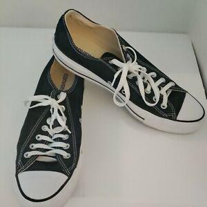 Converse Men ALL STAR CHUCK TAYLOR LOW BLACK  M9166 Size 11