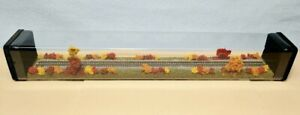 """Z SCALE 14"""" DISPLAY TUBE - 'FALL FOLIAGE SCENE'- FOR ANY Z LOCOS AND CARS -M1"""