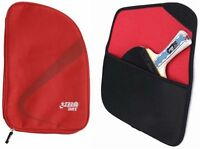 DHS (Double Happiness) Table Tennis Pouch Bag Black or Red 100% Genuine