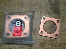Land Rover Series Defender 48-84 copper square flange exhaust gasket 213358 G20