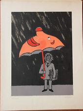 SAVIGNAC Jean-Pierre - Lithographie signée numérotée dessin humour affiche **