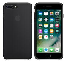 Apple iPhone 7 plus Silicone Case schwarz