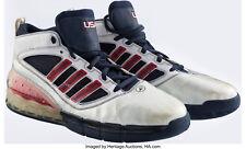 2008 Dwight Howard Game Worn Summer Olympics Sneakers Mears & Heritage COA