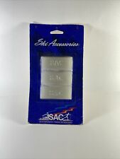 Sac Ski Hot Wax For Downhill, Cross Country Skis & Snowboards Vintage Sealed