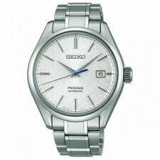 Seiko Presage Silver Men's Watch - SARX055