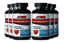 Heart Health - Blood Pressure Support 820mg - Improves Blood Flow Pills 6B