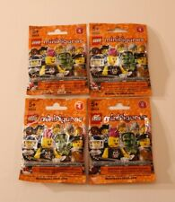Lego Minifigure Collection Series 4 #8804 Mystery set of 4 SEALED