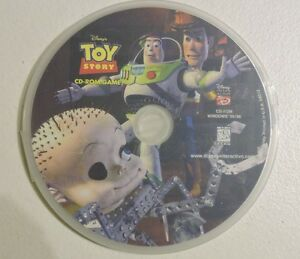 Toy Story Power Play CD-ROM Windows Game Interactive