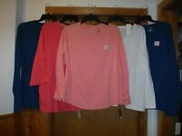Size Plus Long Sleeve Women's T-Shirts Sonoma size 2X,1X,Some Color NWT