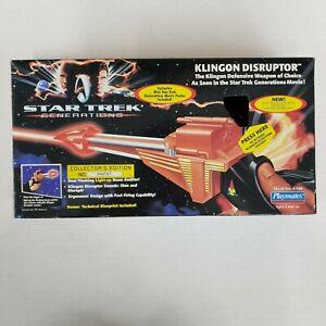Star Trek Generations Klingon Disruptor Toy Playmates 6146 Collectors OPEN BOX