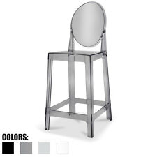 Counter Seat Height Barstool Modern Side Stool Chair With Foot Rest