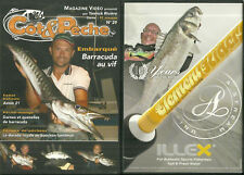 DVD - LA PÊCHE : BARRACUDA AU VIF DORADE ROYALE PECHEUR ETANG / COMME NEUF