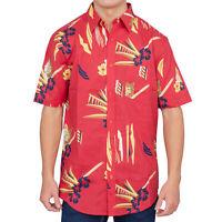 Adult Mens Scarface Tony Montana Hawaiian Costume Button Up Shirt