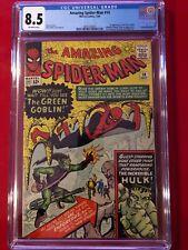 Amazing Spider-Man #14 CGC 8.5 - 1st Green Goblin - super HOT Silver Age Key