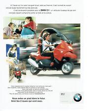 Publicité Advertising 107  2000  moto BMW C1