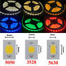 5M RGB LED Strip Light SMD 3528 5050 5630 3014 5054 Waterproof tape string lamp