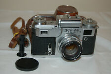 Kiev-4 (Type 3) Vintage 1974 Soviet Rangefinder Camera & Case. 7400230. UK Sale
