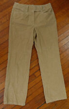 Jeans Rj24414 **talbots** Corduroy Stretch Straight Leg Womens Pants Sz10light Brown