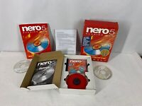 Nero 5 Burning Rom Software Including Manual, Disc, And Other CDs