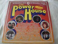 POWERHOUSE 20 ORIGINAL HITS 20 ORIGINAL STARS VINYL LP ALBUM 1976 K-TEL RECORDS