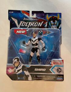 Voltron Legendary Defender- Shiro Black Pilot Action Figure Playmates Netflix
