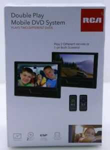 RCA Double Play Mobile DVD System + Remotes DRC72989DE  - New, Free Shipping