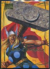 2016 Marvel Masterpieces Gold Foil Signature Trading Card #81 Thor