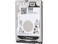 """Western Digital BLACK 500 GB Internal 7200 RPM 2.5"""" Hard Drive - WD5000LPLX HDD"""